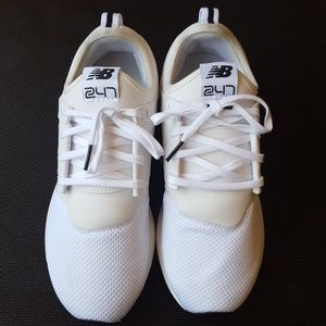 Women's New Balance 247 White/White NWOT
